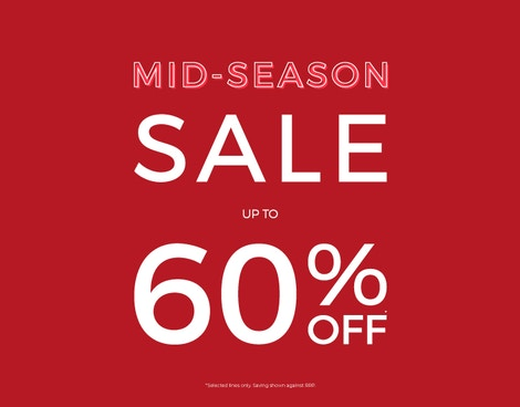 Up to 60% off*