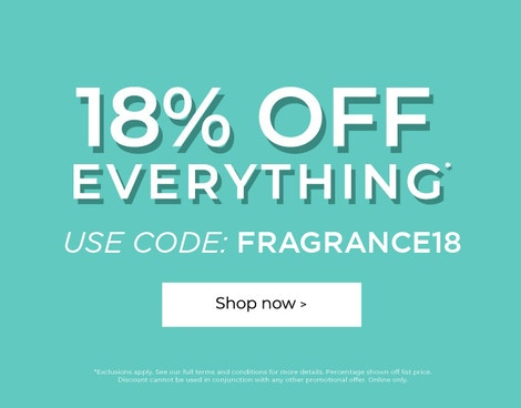 USE CODE FRAGRANCE18
