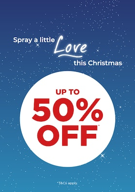 Up to 50% Off*