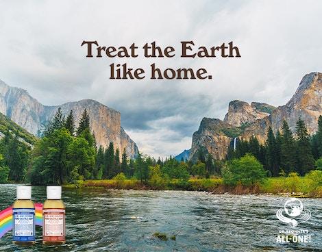 TREAT THE EARTH LIKE HOME