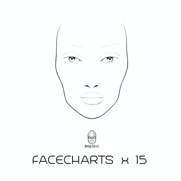My Face Charts (15) Makeup Accessory