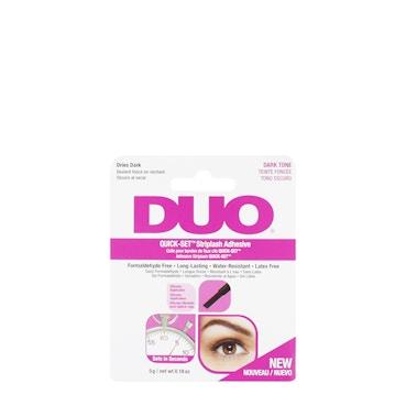 Duo Quick Set Eyelash Adhesive Dark Brush On