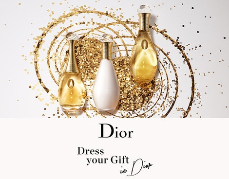 DRESS YOUR GIFT IN DIOR