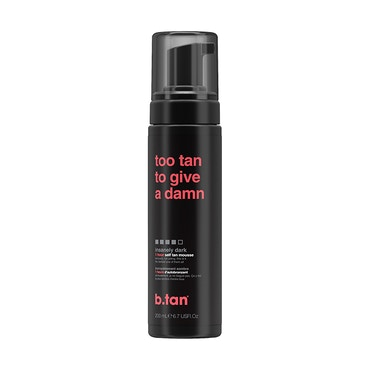 too tan to give a damn - self tan mousse - 200ml