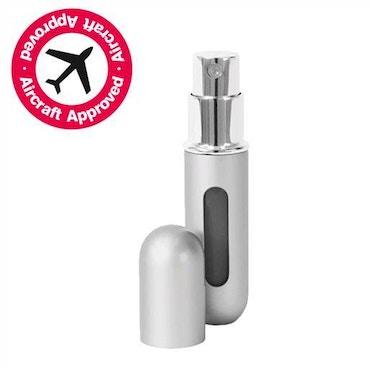 Silver Atomiser 5ml Refillable Spray