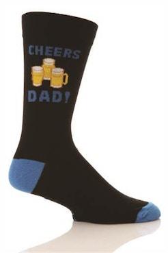 Cheers Beer Dad Socks