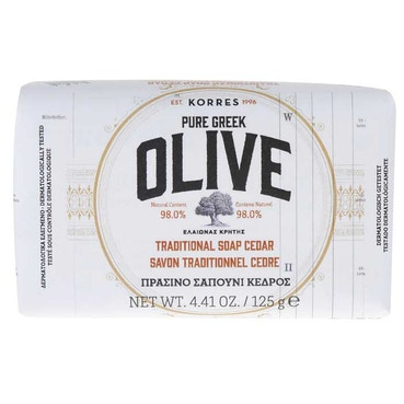 Pure Greek Olive Cedar Soap 125g