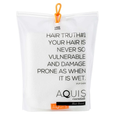 Hair Towel Lisse Luxe White