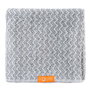 Hair Towel Lisse Luxe Chevron