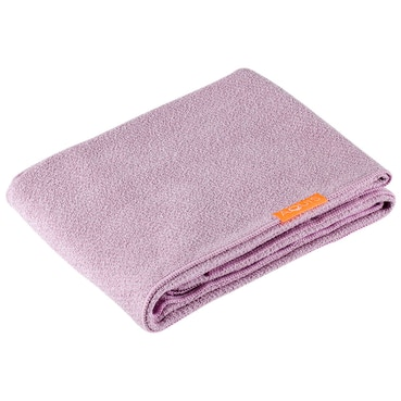 Long Hair Towel Lisse Luxe Desert Rose