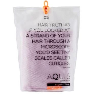 Long Hair Towel Lisse Luxe Desert Rose