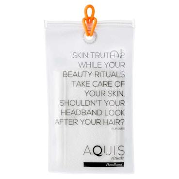 Lisse Luxe Headband White
