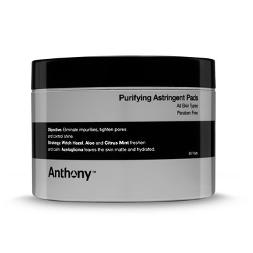 Purifying Astringent Toning Pads x60