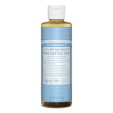 Baby Unscented Castile Liquid Soap 237ml