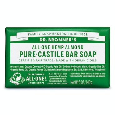 Almond Bar soap 140g