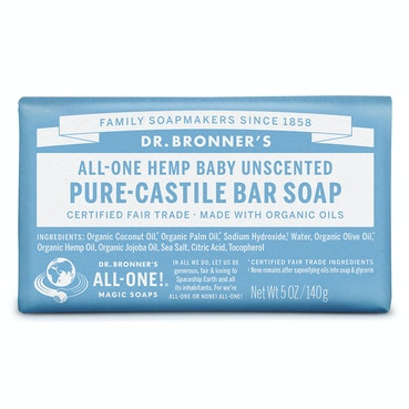 Baby Unscented Bar soap 140g