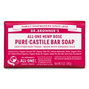 Dr Bronner  Rose Bar soap  140g