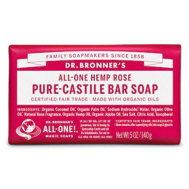 Dr Bronner  Rose Bar soap  140g