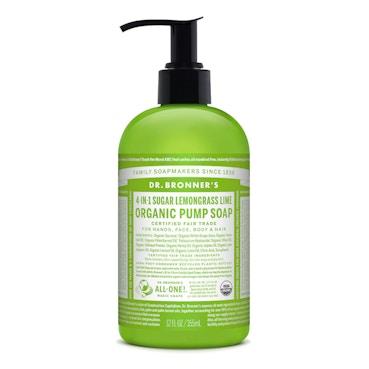 Lemongrass Lime Organic Pump Soap 355ml