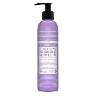 Lavender Coconut Organic Lotion 236ml