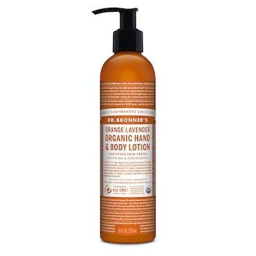 Orange Lavender Organic Lotion 236ml