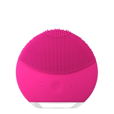LUNA mini 2 Dual-Sided Face Brush for all skin types - Fuchsia