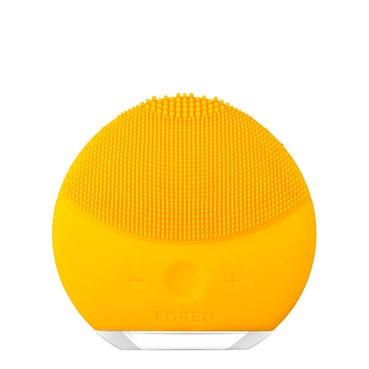 LUNA mini 2 Dual-Sided Face Brush for all skin types  - Sunflower Yellow