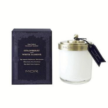 Strawberry & White Jasmine Candle 380gm
