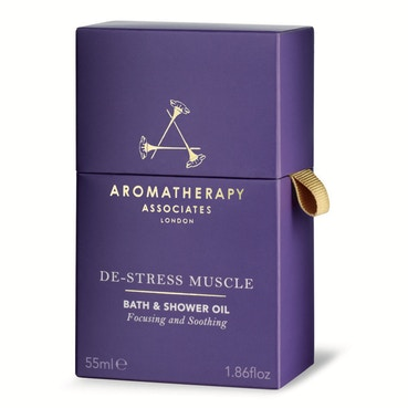 De-Stress Muscle Bath And Shower Oil 55ml