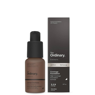 The Ordinary Colours Coverage Foundation 3.3N 30ml