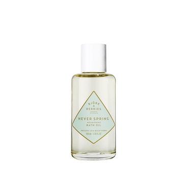 Bjork & Berries  Never Spring Nourishing Bath Oil  100ML