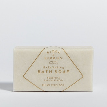 Bjork & Berries  Bar Soap Scrub  225g