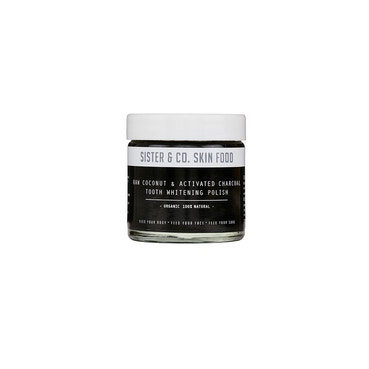 Raw Coconut & Activated Charcoal Tooth Whitening Polish 60ml