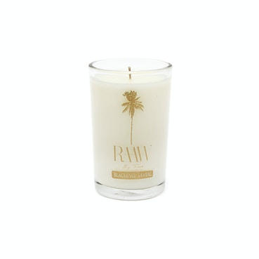 RAAW by Trice Blackened Santal Candle