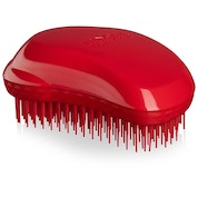Thick and Curly Salsa Red Hairbrush