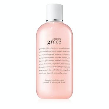 Philosophy Amazing Grace 3-in-1 Shampoo, Shower Gel & Bubble Bath 480ml