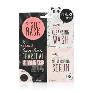 Multi Step Face Mask With Charcoal