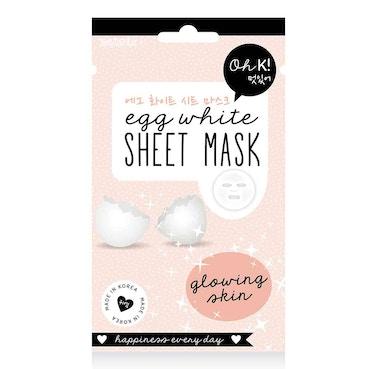 Egg White Sheet Mask