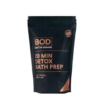 20 min Charcoal Bath Salts & Detox