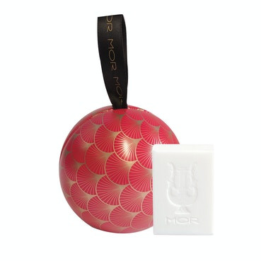 Playful Pomegranate Bauble - Little Luxuries Pomegranate Soapette 60g