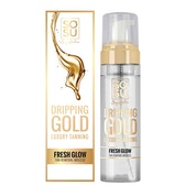 Dripping Gold Tan Eraser