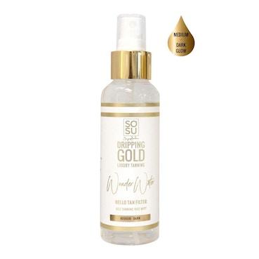 Dripping Gold Wonder Water Self Tanning Facial Mist - Medium Dark