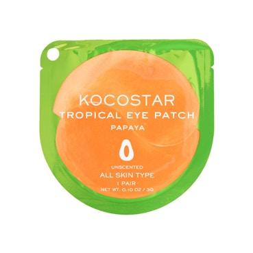 Tropical Eye Patch - Papaya