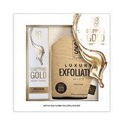Dripping Gold Tan Eraser Gift Set
