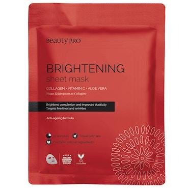 Brightening Collagen Sheet Mask With Vitamin C - 23g