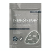 Thermotherapy Warming Silver Foil Mask With Vitamin C & Green Tea - 25ml