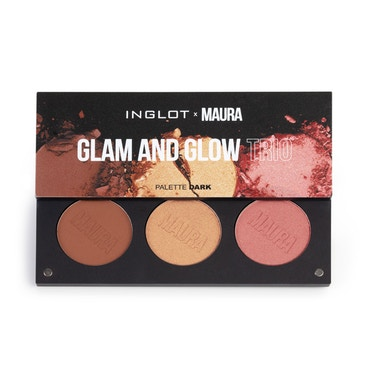 Inglot x Maura - Glam And Glow Trio Palette - Dark