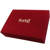 Korloff Paris Red Jewellery Box