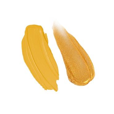 Stila Double Dip Suede Shade and Glitter & Glow Liquid Eye Shadows - Spicy Mustard