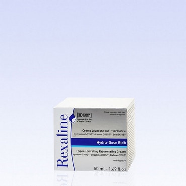 REXALINE 3D Hydra-Dose Rich - Hydrating Rejuvenating Cream - 50 ml
